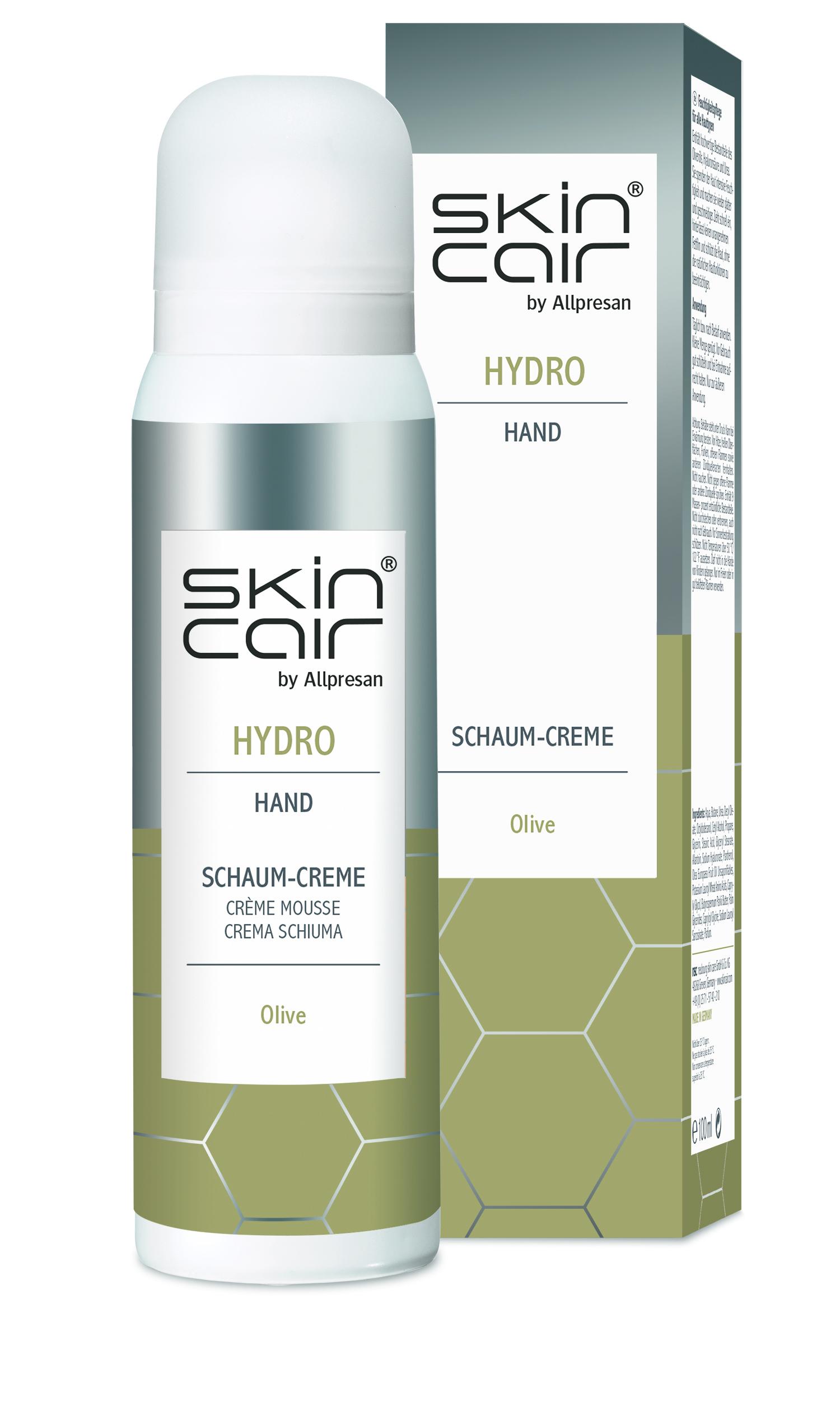 Skincair HYDRO Schaum-Creme Hand - 100 ml
