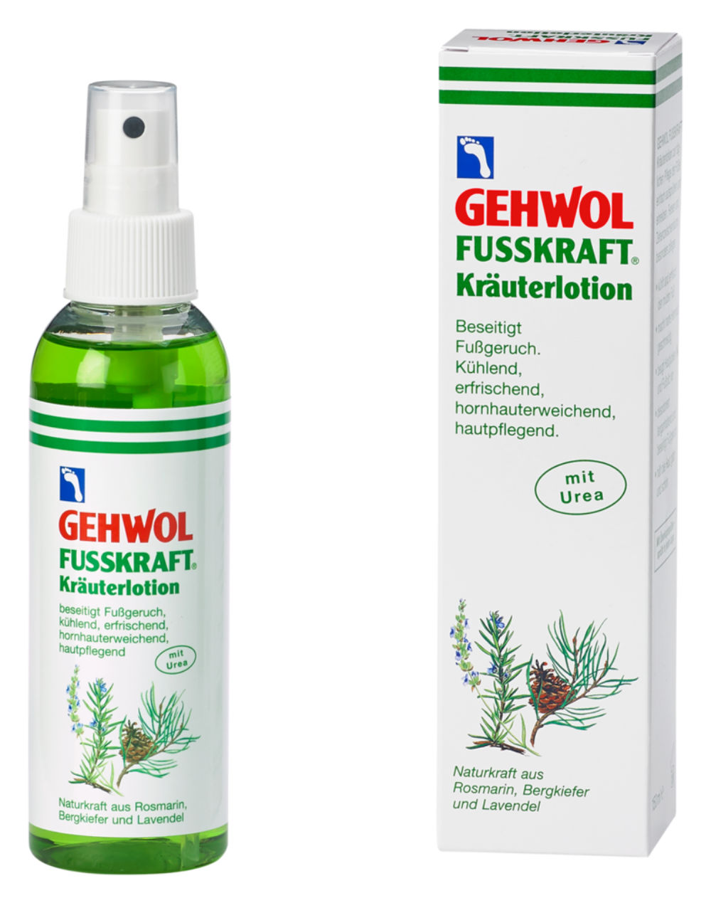 GEHWOL FUSSKRAFT® Kräuterlotion - 150 ml