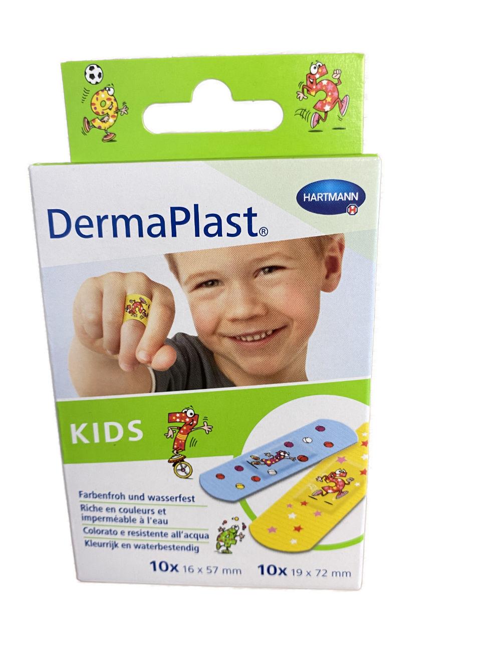 DermaPlast® KIDS Pflaster - 20 Stück