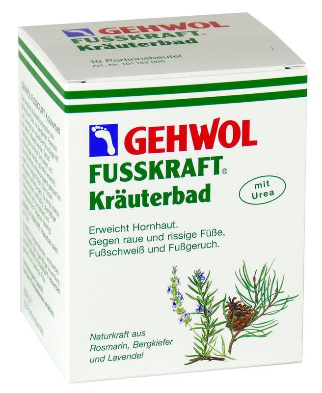 GEHWOL FUSSKRAFT® Kräuterbad - 10 Stück a 20 g