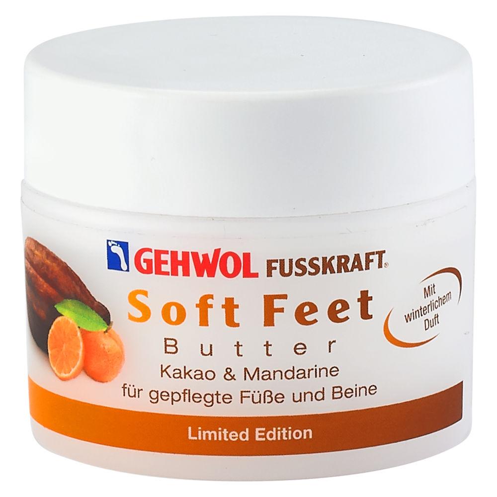 GEHWOL FUSSKRAFT® Soft Feet - Butter Kakao & Mandarine 50 ml Tiegel