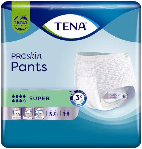 TENA® Pants Super - 8 Tropfen Gr. L 12 Stück