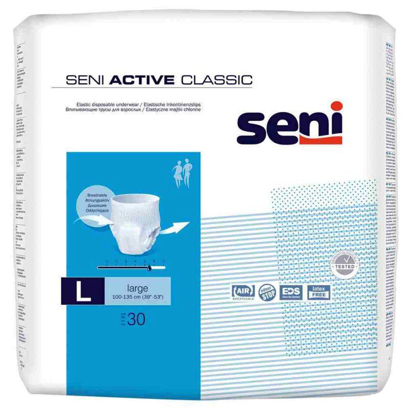 SENI® Active Classic -  5,5 Tropfen Gr. L 30 Stück