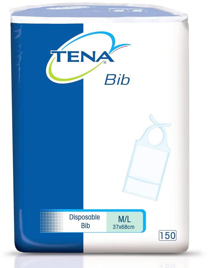 TENA® Bib Schutzserviette - G. M/L 150 Stück