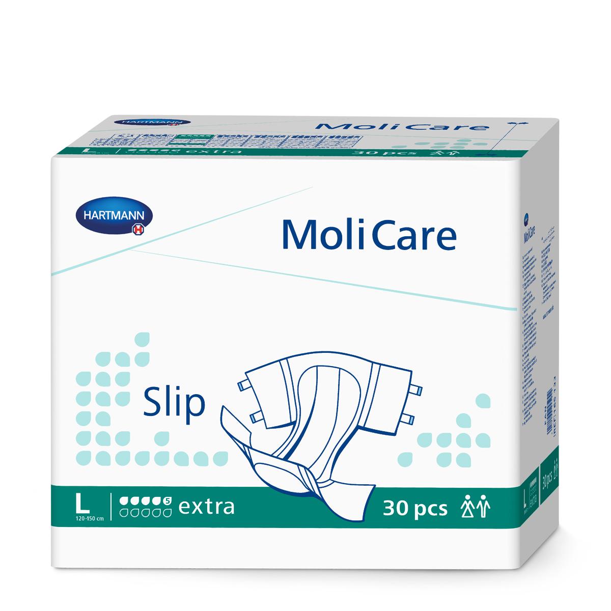 MoliCare® Slip - Extra (5 Tropfen) Gr. 3 Large 30 Stück